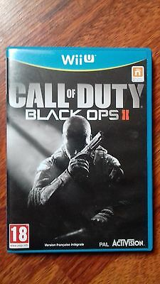 CALL OF DUTY BLACK OPS II  pour WII U