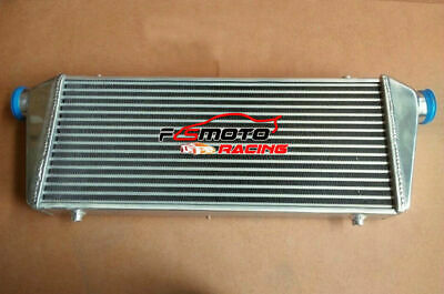 """460 x 230 x 50mm FMIC ALUMINUM INTERCOOLER 2.25"""" INLET/OUTLET TURBO Tube and Fin"""