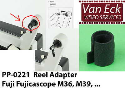 Reel adapter for Fujicascope M36, M39 - PP-0221 Van Eck (new)
