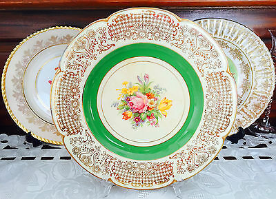 Vintage Woods Ivory Ware England Display Plate C1930's