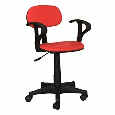 Chair Office Computer Swivel  Desk  Executive Wheels Gaming Studio Salon in Red