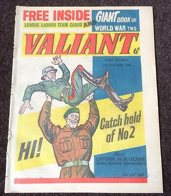 Valiant Comic Issue #2 from 13th October 1962