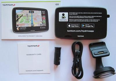 """TomTom GO 6200 With Wi-Fi In Car 6"""" Touch Screen GPS Navigator New AUS/NZ Maps"""