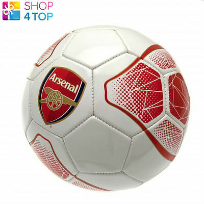 Arsenal Fc Ball White Red Size 5 32 Panel Official Football Soccer Club Team New