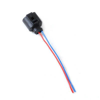 2 Pin Connector Plug Wiring Electrical Harness For VW Audi Skoda Seat 1J0973702