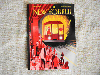The New Yorker ~ August 7 & 14, 2017