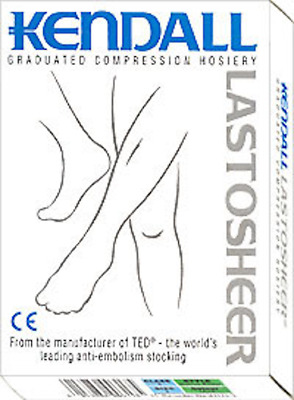 Kendall Lastosheer Class 2 Compression Hosiery Stockings 23-32mmHg Thigh/Knee