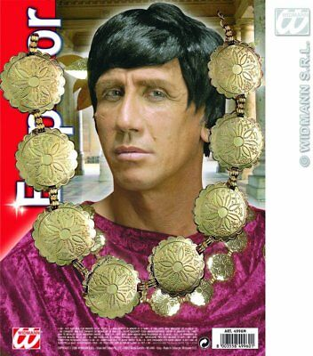 Mens Roman/King Necklace Accessory for Toga Party Rome Sparticus Fancy Dress