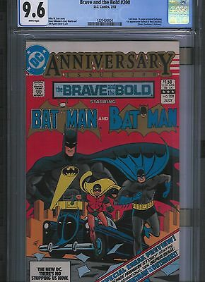Brave and the Bold # 200 CGC 9.6  White Pages. UnRestored.