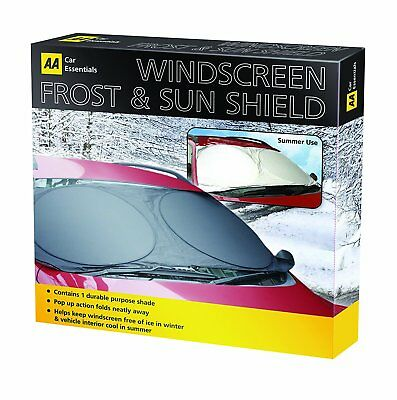 AA Official Car Front Window Windscreen Frost / Sun Shade Shield Ice Protection