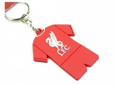 Liverpool Football Club PVC Full Kit Keyring Fan Car Key Crest Football Anfield