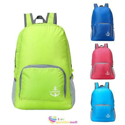 20L Lightweight Waterproof Sports Travel Backpack Rucksack School Bag Foldable