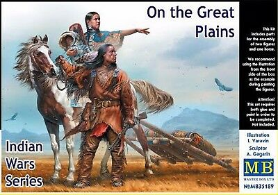 Master Box 35189 Indian Wars Series. On the Great Plains 1:35 NEW plastic model