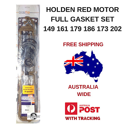 Holden Red 6 Cylinder Motor Full Gasket Set 149 161 173 179 186 202