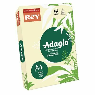 Adagio Pastel Ivory A4 Coloured 160gsm Card (Pack of 250) 201.1204 [BG08964]