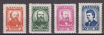 "Latvia - 1936 ""Latvian Writers"" (MNH)"