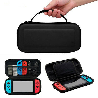 Nintendo Switch Hard Case Protective Cover Black Travel Bag Carry Case
