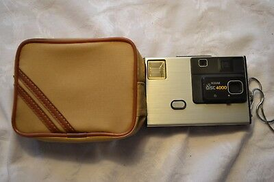 Vintage Kodak Disc 4000 Disc Film Camera