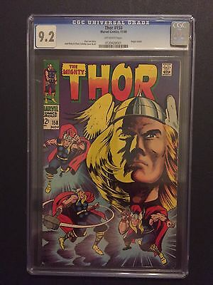 Thor 158 !! Cgc 9.2 !! Iconic Cover !! Origin Retold !!