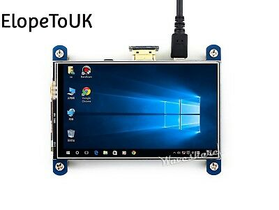 Waveshare 4inch HDMI LCD Resistive Touch Screen 800x480 High Resolution...