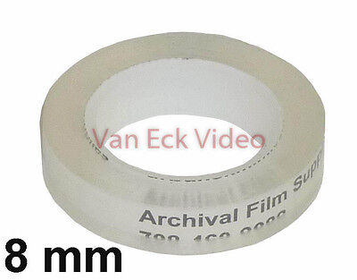 8mm Non Perforated Clear Splicing Tape (for CIR splicers) (SF-0195)