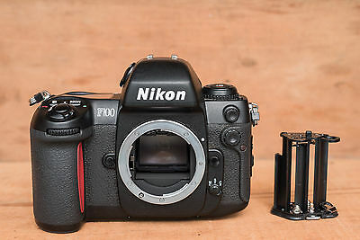 Nikon F100 35mm SLR Film Camera Body Only and extra battery holder