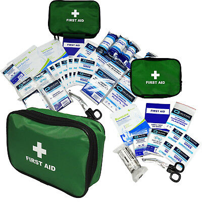 Qualicare Travel Holiday Car Bike Vehicle Motorcycle Emergency First Aid Kit