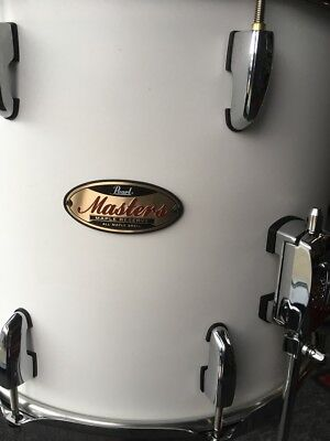 """Pearl MRV Masters Maple Reserve 14"""" x 12"""" Floor Tom in Matte White"""