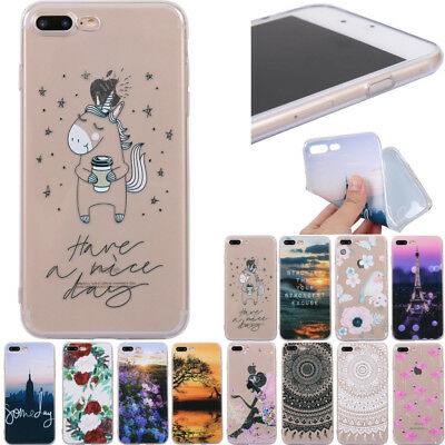 Fashion Cute Pattern Ultra Thin Soft TPU Phone Case Cover For Samsung Galaxy