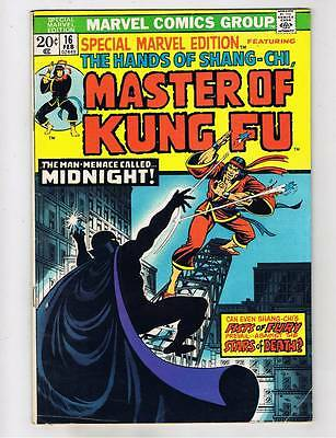 SPECIAL MARVEL EDITION 16 MASTER OF KUNG FU 17,18,20,22,23,24,26,27,30, Annual 1