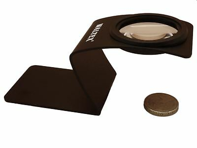 Waltex X4 32mm Free Standing Desk Magnifying Glass Magnifier