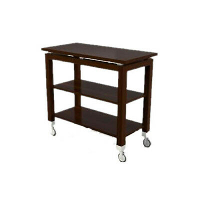 "Lakeside 79986 36""Wx18""Dx32""H Rectangular Serving Cart w/ 2 Shelves"