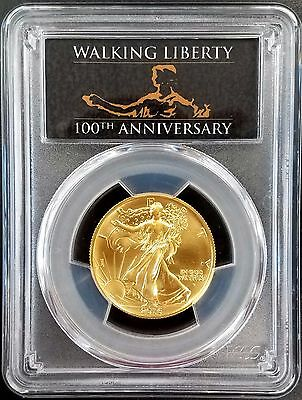 2016 W Walking Liberty Half Dollar Commemorative, First Strike, SP 70 by PCGS!