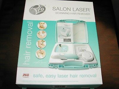 Rio Salon Laser Scanning Hair Remover Legs Face Arms Bikini System