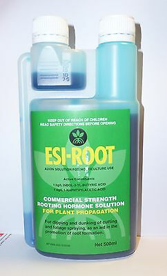 Esi-Root Commercial Strength Rooting Hormone Solution 500ml, Plant Propagation