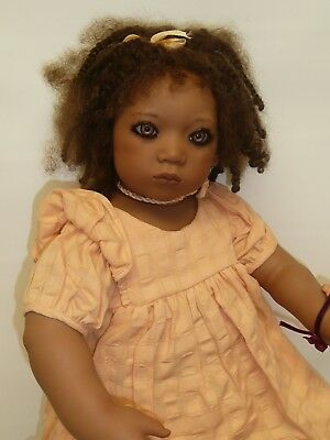 """23"""" Keri by Annette Himstedt w/COA & Boxes, Pre-owned, Stunning, from 1998"""