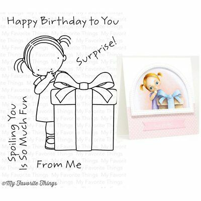 My Favorite Things - Pure Innocence Stamps - Happy Birthday to You