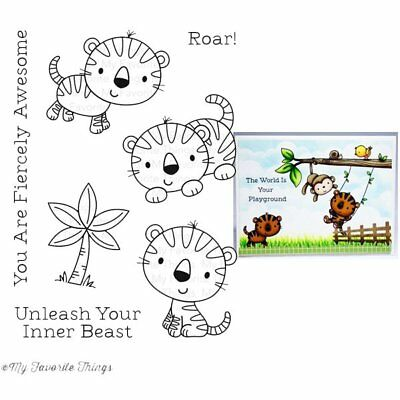 My Favorite Things - Clear Stamps - Fierce Friends
