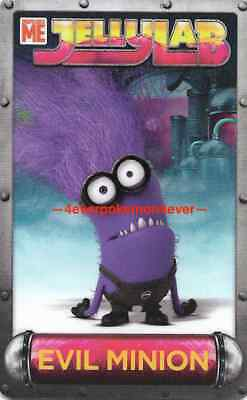 Despicable Me Jelly Lab Card Dave And Busters Jellylab Minions Evil Minion