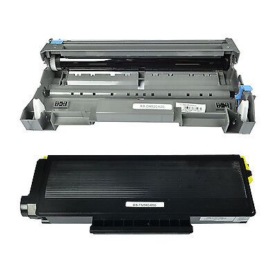 TN580 Toner DR520 Drum Combo for Brother HL-5240 5250 MFC-8460N 8660DN DCP-8060