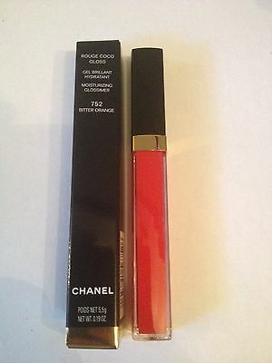CHANEL Rouge coco gloss 752 Bitter orange NEUF