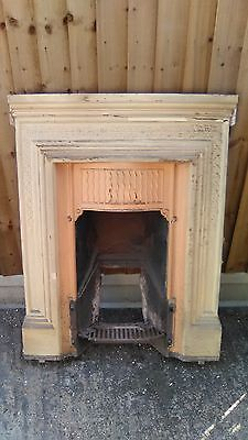 Cast iron fireplace good for restoration project