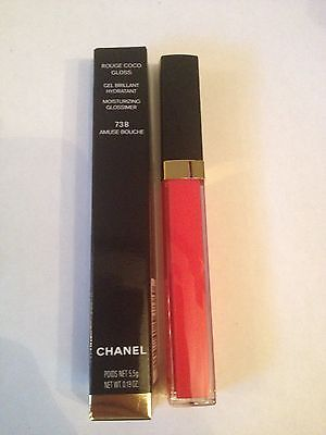 CHANEL Rouge coco gloss 738 amuse bouche NEUF