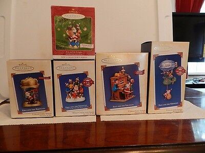 Hallmark Lot Kris and the Kringles Collector Series 2001 - 2005