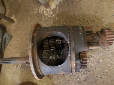 Fordson E1A gearbox