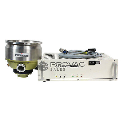 Alcatel 5900 Turbo Pump With Controller & Cable, Rebuilt By Provac Sales, Inc.