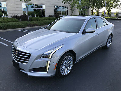 2017 Cadillac CTS Premium Luxury AWD Sedan 4-Door 2017 CADILLAC CTS PREMIUM LUXURY AWD, ONLY 5K MI, DON'T MISS!