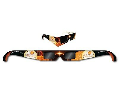 Premium ISO and CE certified Lunt Solar Eclipse Glasses - 2017 USA Total Eclipse