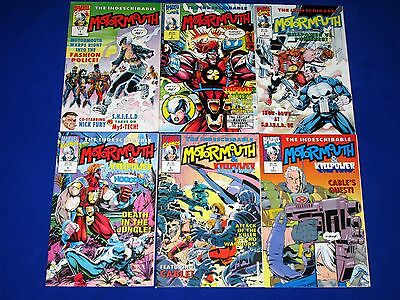 Lot of INDESCRIBABLE MOTORMOUTH Issues 1 - 4, 6, 7 [Marvel 1992] VF/NM Or Better