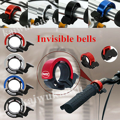 90db Invisible Bicycle Bell Bike Handlebar Horn Ring Bell 22.2-24MM/31.8mm Mini